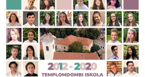 A nyolcadik osztályosok ballagási ünnepsége
